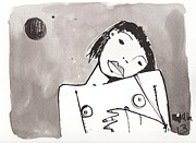 Nude Mixed Media - Sub Lunam No. 1 by Mark M  Mellon
