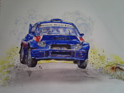 Rally Originals - Subaru Impreza WRC by Anne Dalton