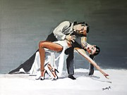 Ballroom Dance Paintings - Submission by Judy Kay