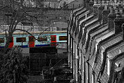 Howard Heywood Metal Prints - Suburban London Metal Print by Howard Heywood