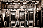 Facade Framed Prints - Suburban Station Framed Print by Olivier Le Queinec