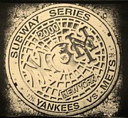 Mets World Series Prints - Subway Series 2000 Print by Rob Hans