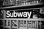 Newyorkcitypics Bring your memories home - Subway Sign