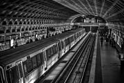 Restless Light Photography Framed Prints - Subway Train Framed Print by Lynn Palmer