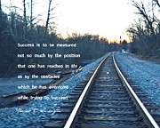 Booker T. Photo Prints - Success Print by Marianne Beukema