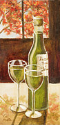 Wine Glasses Painting Originals - Success by Vic  Mastis