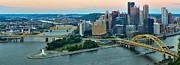 Adam Jewell - Pink Over The Pittsburgh Skyline