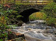 Fall Photos Prints - Sudbury River Print by Juergen Roth