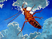 Cockroach Paintings - Sueno de la Cucaracha by Gerhardt Isringhaus