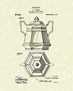 Article Posters - Sugar Bowl 1915 Patent Art Poster by Prior Art Design