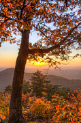 Autumn Scenes Metal Prints - Sugar Loaf Mountain Metal Print by Debra and Dave Vanderlaan