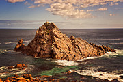 Niel Morley Framed Prints - Sugar Loaf Rock Framed Print by Niel Morley