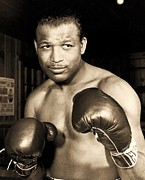 Hall Of Famer Prints - Sugar Ray Robinson Print by Pg Reproductions