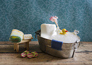Bath Time Prints - Sugar Scrub Print by Heather Applegate