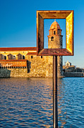 Collioure Framed Prints - Suitable for Framing Framed Print by Joan Herwig