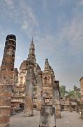 Sukhothai Historical Park - Sukhothai Thailand - 011324 Print by DC Photographer