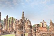 Sukhothai Historical Park - Sukhothai Thailand - 011330 Print by DC Photographer
