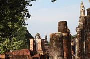 Sukhothai Historical Park - Sukhothai Thailand - 011335 Print by DC Photographer