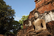 Ruins Photo Prints - Sukhothai Historical Park - Sukhothai Thailand - 011346 Print by DC Photographer
