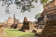 Ancient Photos - Sukhothai Historical Park - Sukhothai Thailand - 01135 by DC Photographer
