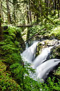 Washington Art - Sul Duc Falls by Puget  Exposure