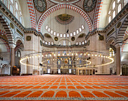 Suleimans Mosque Print by Rob Van Esch