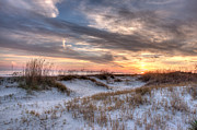 Sullivan Art - Sullivan Island at Dusk by Walt  Baker
