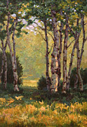 Pathway Paintings - Summer Afternoon by Kevin  McCain