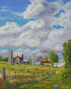 Cumulus Originals - Summer Afternoon Morristown NY by Robert P Hedden