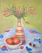 Summer At My Sister's Place Print by Laurel  Anderson-McCallum