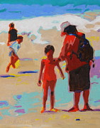 Thomas Bertram POOLE - Summer Beach Play