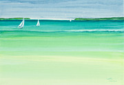Florida Keys Paintings - Summer Breeze by Michelle Wiarda