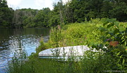 Nature Center Pond Prints - Summer Day  Print by Deborah Fay