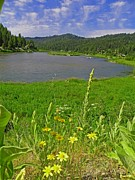 Idaho Scenery Prints - Summer Day in the Mountains - Payette River Print by Photography Moments - Sandi