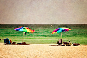 Panama City Beach Prints - Summer Days at the Beach Print by Scott Pellegrin