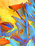 Summer Eucalypt Abstract 29 Print by Margaret Saheed