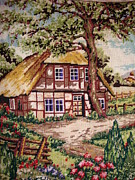 Country Tapestries - Textiles Framed Prints - Summer Framed Print by Eugen Mihalascu
