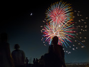 4th July Photo Originals - Summer Fireworks Number One by Kipp Baker