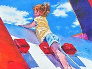 4th July Paintings - Summer Fun by Kay Bohren