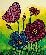 Summer Garden 2 Print by Sharon Cummings
