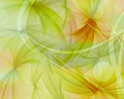 Judy Palkimas - Summer Garden Abstract