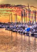 Yacht Photos - Summer Hues by Heidi Smith
