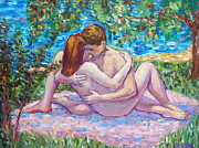Love Making Paintings - Summer Love by Alla Gerzon