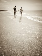 Bathing Photo Prints - Summer Memories Print by Edward Fielding