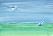 Michelle Wiarda - Summer Moonlight Sail