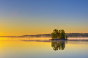 Vibrant Art - Summer morning at 5.05  by Veikko Suikkanen