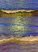 Impressionism Digital Art Prints - Summer Nocturne Print by David Wiles