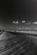 Ac Boardwalk Framed Prints - Summer Noir Framed Print by Paul Watkins