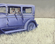 Chevy Pastels - Summer of 29 by Tracy L Teeter