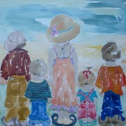 Discrimination Paintings - Summer Passes As Usual by Vicki Aisner Porter
